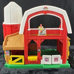 Fisher-Price 2005 Little People Barn with Silo